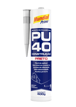 Selante Construção PU40 - Preto