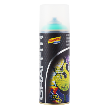 Tinta Spray Graffiti Verde-Folha