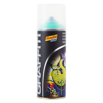 Tinta Spray Graffiti Verde-Folha