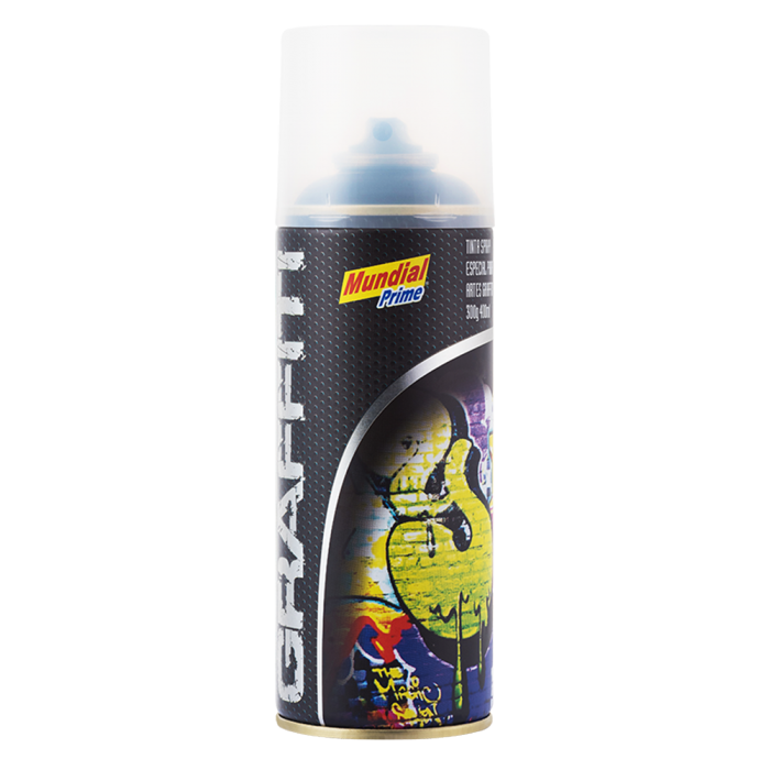 Tinta Spray Graffiti Preto