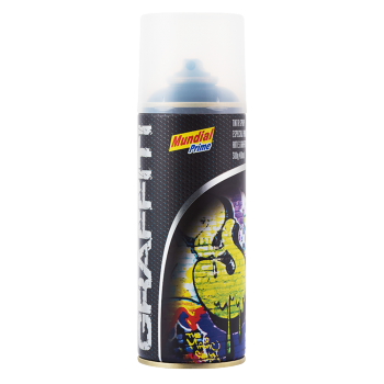 Tinta Spray Graffiti Preto