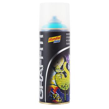 Tinta Spray Graffiti Azul-Piscina