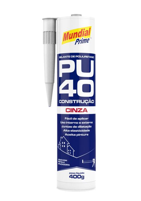Selante Construção PU40 - Cinza