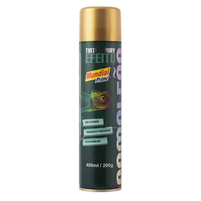 Tinta Spray Camaleão - Amarelo
