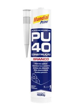 Selante Construção PU40 - Branco